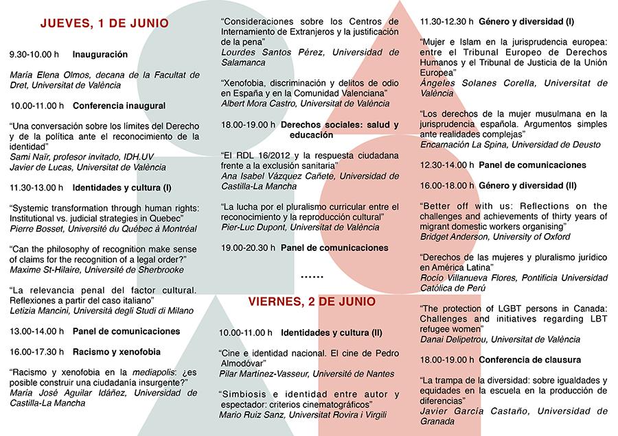 Tríptico III Congreso MULTIHURI