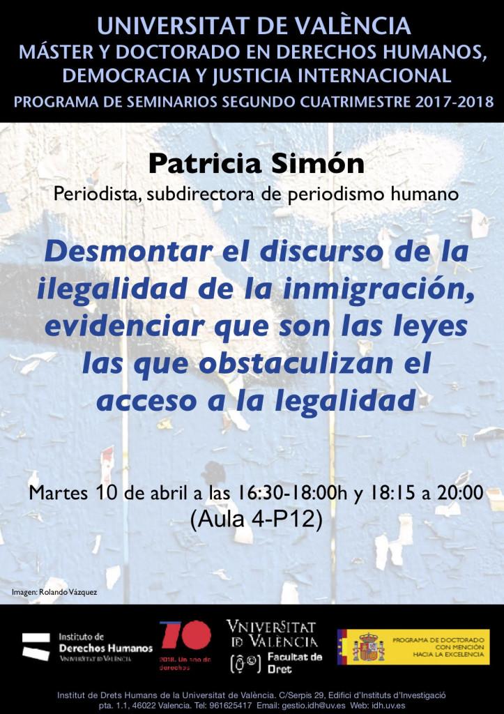 SEM PATRICIA SIMÓN